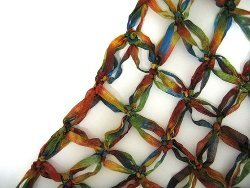 Solomons Knot Shawl | AllFreeCrochet com