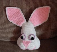 Small Easter Bunny Pillow