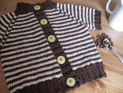 Little Coffee Bean Baby Cardigan