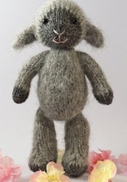 Fuzzy Lamb Knitting Pattern