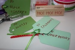 Holiday Gift Tag Tutorial