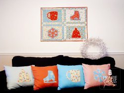 Wall Hanging and Pillow Slipcovers