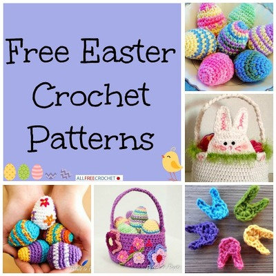 20 Free Easter Crochet Patterns AllFreeCrochet.com