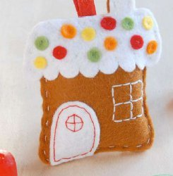Gingerbread House Ornaments Allfreechristmascrafts Com