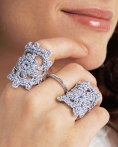 Dainty Crochet Ring