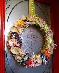 Simple Ruffled Wreath