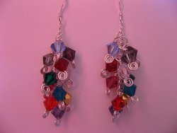 Cascading Crystal Earrings Tutorial