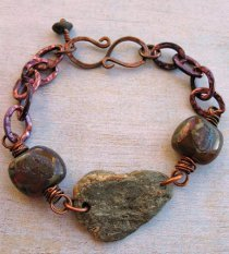 Rock Collecting Bracelet