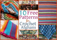 10 Free Patterns for Crochet Afghans