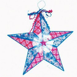 Memorial Day Front Door Star
