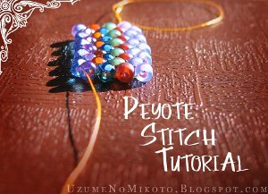 Beginner Beading Tutorials How To Peyote Stitch Brick