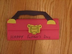 Father's Day Tool Box Card