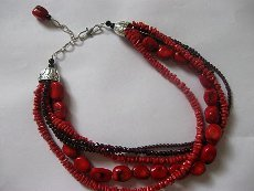 Stash Buster Multi Strand Bead Necklace