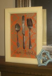 Give Thanks Thanksgiving Shadow Box