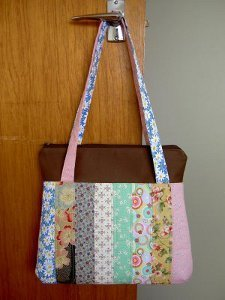 Finish It Your Way Patchwork Bag Favequilts Com