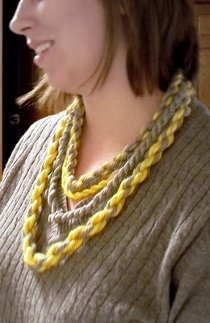 Twisted Yarn Necklace