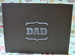 Paper Wallet Father's Day Card