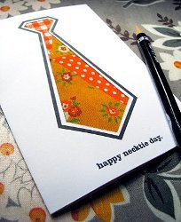 DIY Necktie Card