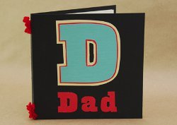 Homemade Book for Dad