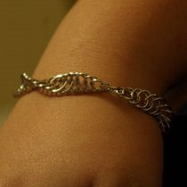 Spiral Chainmaille Bracelet