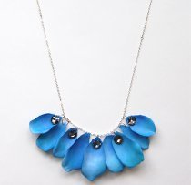 Lanvin Knockoff Watercolor Petal Necklace