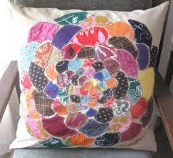 DIY Anthropologie Orimono Pillow