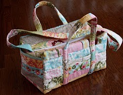 Quilted Baby On the Go Diaper Bag