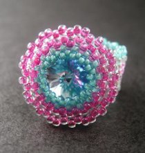 Peyote Stitch Bezel