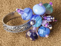 Under the Sea Bauble Ring