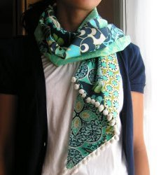 Fat Quarter Patchwork Scarf