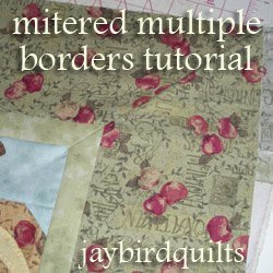 How to Make Multiple Mitered Borders