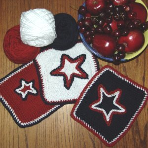 4th of July BBQ Dishcloth
