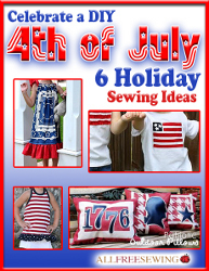 """6 Free Holiday Ideas: Celebrate a DIY 4th of July"" eBook"