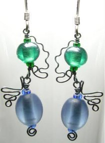 Whimsical Wiggle Earrings