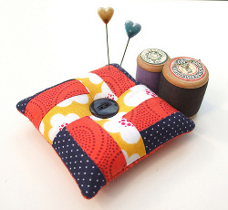 Quick Pieced Pincushion Tutorial