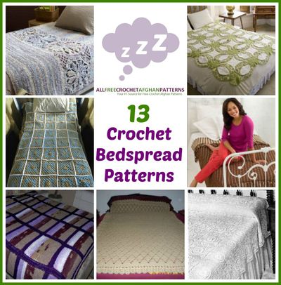 13 Crochet Bedspread Patterns