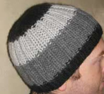 Knitting Patterns Images : Easy Ribbed Alpaca Hat AllFreeKnitting.com