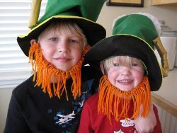 Leprechaun Yarn Beards