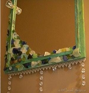 Embellished Antique Mirror Favecrafts Com