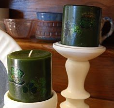 So Simple St. Patty's Candles