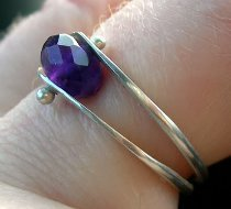 Dual Band Bead Ring