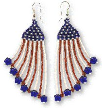 Happy 4th Earrings