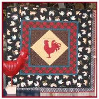 Red Rooster Wall Hanging