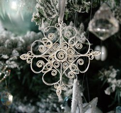 Intricate Quilled Snowflakes