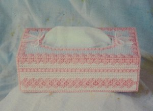 Pretty in Pink Tissue Box