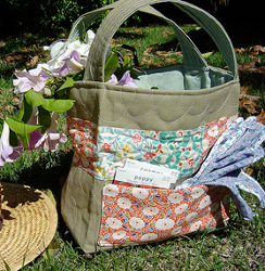 Quilted Garden Tote
