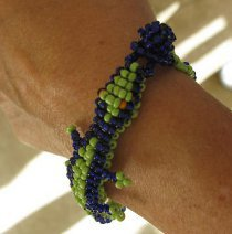 Alligator Beaded Bracelet