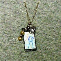 Children's Art Necklace