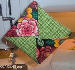 Folded Patchwork Ornament