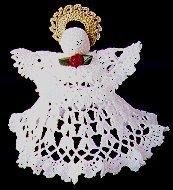 Crocheted Angel Tree Topper Allfreecrochetcom